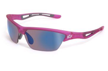 Bolle Sunglasses, Tempest Satin Crystal Pink Frame Rose Blue Lens 11485