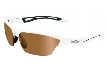 Bolle Tempest Sunglasses, Modulator V3 Golf Oleo AF, Shiny White 11820
