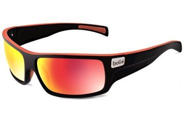 Bolle Tetra Progressive Prescription Sunglasses - Matte Black/Red Line Frame 11707PRG