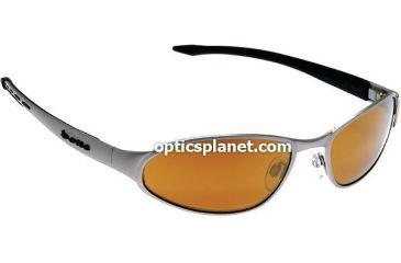 Bolle Action Sport - Golf Vanadium Rx Prescription Sunglasses - EagleVision 2 Gold, AR - Matte Silver Frame