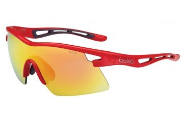 Bolle Vortex Sunglasses, TNS Fire Oleo AF, Red 11823