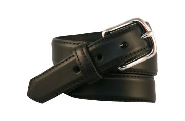 Boston Leather 11/4in Heavy Leather Dress Belt - 6425-1-38B