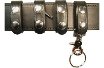 Boston Leather Belt Keeper Combopack Pl,delux - 7500-1BLK