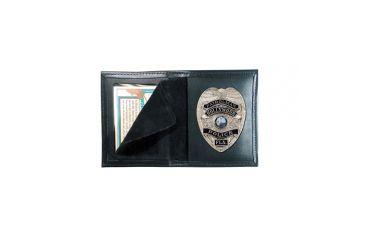 Boston Leather Bookstyle Badge Case# - 100-4105
