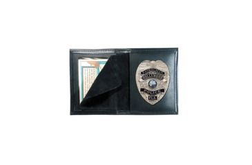 Boston Leather Bookstyle Badge Case# - 100-4168