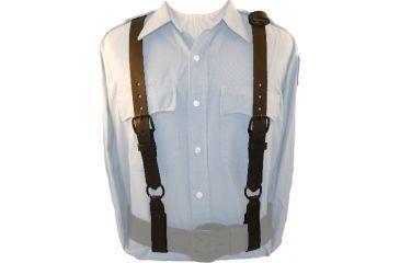 Boston Leather Police Suspenders - 9180-1