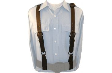 Boston Leather Policeman Leather Suspenders B - 9180-3