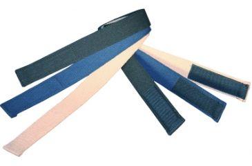 Boston Leather Velcro Tipped Cotton Webbelt 1 - 6229-30-34
