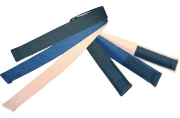 Boston Leather Velcro Tipped Cotton Webbelt, - 6229-30-44