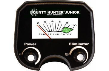 Bounty Hunter Junior Metal Detector Faceplate