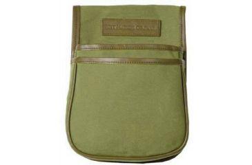 Boyt Harness Estancia Series Leather Canvas Trap Skeet Pouch, Green 0PL145001