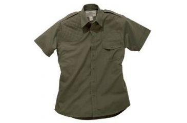 Boyt Harness Short Sleeve Safari Shirt Green Lh Medium 0sa100mlg