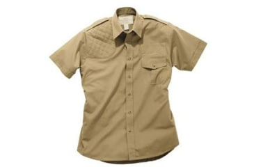 Boyt Harness Short Sleeve Safari Shirt Khaki Rh 4xl 0sa1004rt