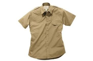Boyt Harness Short Sleeve Safari Shirt Khaki Rh Large 0sa100lrt