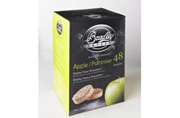 Bradley Smoker Bisquettes, Apple 48Pk BTAP48