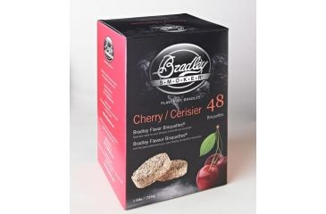 Bradley Smoker Bisquettes, Cherry 48Pk BTCH48