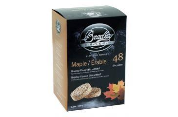 Bradley Smoker Bisquettes, Maple 48Pk BTMP48