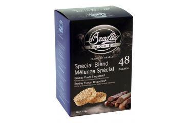 Bradley Smoker Bisquettes, Special Blend 48Pk BTSB48