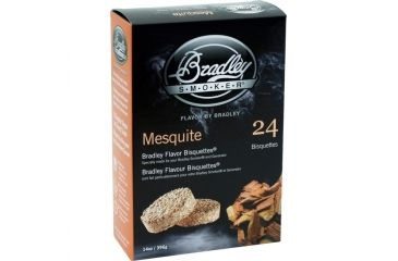 Bradley Smoker Mesquite Bisquettes,24pk BTMQ24