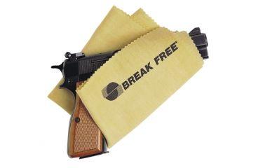 Break Free Silicone Gun Cloths 100 Square Inches 10 Per Carton GC220P