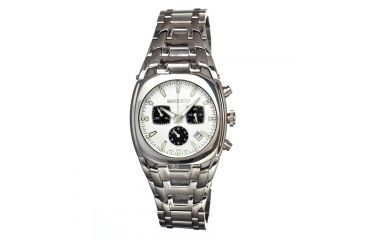 Breed 0402 Charles Mens Watch, White BRD0402