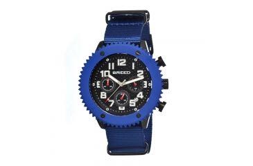Breed 1502 Decker Mens Watch, Black BRD1502