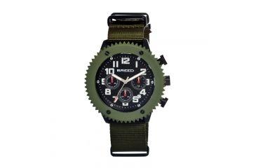 Breed 1504 Decker Mens Watch, Black BRD1504