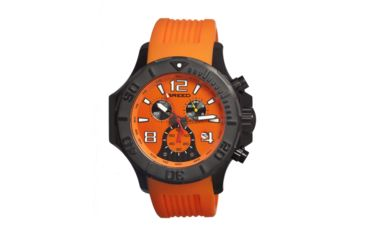 Breed 1703 Gabriel Mens Watch, Orange BRD1703