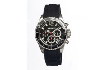 Breed 2402 Genaro Mens Watch, Black BRD2402