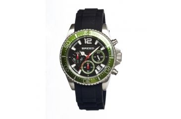 Breed 2404 Genaro Mens Watch, Black BRD2404