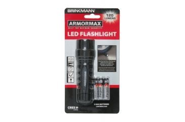 Brink Mann ArmorMax 120 Lumens LED Flashlight