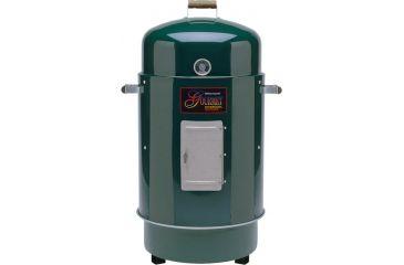 Brinkmann Outdoors Gourmet Charcoal Smoker & Grill, Green 852-7080-E