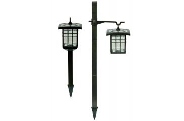 Brinkmann Outdoors Solar Crossbar Light, 4 Pack 822-0812-4