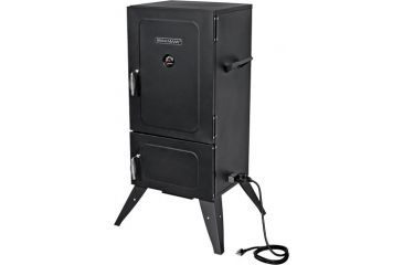 1-Brinkmann Outdoors Vertical Electric Heavy-Duty Smoker & Grill