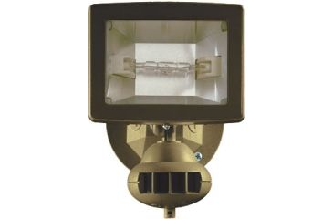 Brinkmann Outdoors Home Security Halogen Motion Activated Lighting System 829-5385-B
