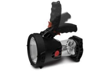 Brinkmann Outdoors Rechargeable LED Spotlight/Lantern, 180 Lumens, Black 800-6000-1