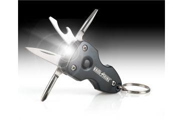 Brite Strike Technologies Anodized Aluminum 6 in 1 LED Multi-tool, Black BSLMT-30