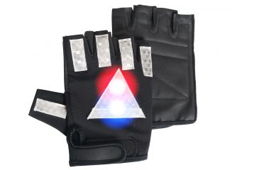 Brite Strike Police Patrol Cycling Glove Medium PPCG-04-M