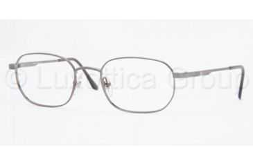 Brooks Brothers BB 222 Eyeglasses Styles Gunmetal Frame w/Non-Rx 52 mm Diameter Lenses, 1150-5219, Brooks Brothers BB 222 Eyeglasses Styles Gunmetal Frame w/Non-Rx 52 mm Diameter Lenses