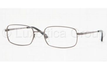 623d324130 Brooks Brothers BB3005 Progressive Eyeglasses - Gunmetal Demo Lens Frame    52 mm Prescription Lenses