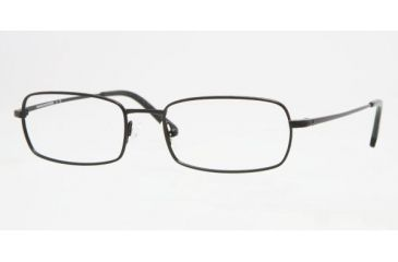 Brooks Brothers BB 3008 Eyeglasses Styles Black Frame w/Non-Rx 55 mm Diameter Lenses, 1004-5518