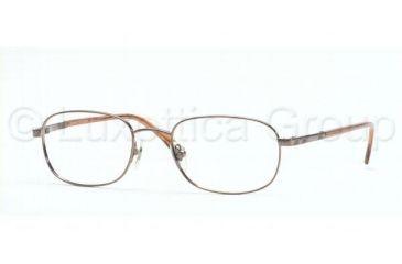 Brooks Brothers BB 363 Eyeglasses Styles Brown Metallic Frame w/Non-Rx 50 mm Diameter Lenses, 1196-5019, Brooks Brothers BB 363 Eyeglasses Styles Brown Metallic Frame w/Non-Rx 50 mm Diameter Lenses