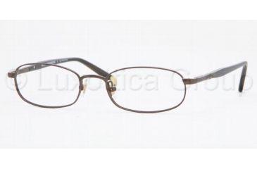Brooks Brothers BB 462 Eyeglasses Styles Matte Brown Frame w/Non-Rx 51 mm Diameter Lenses, 1261-5118, Brooks Brothers BB 462 Eyeglasses Styles Matte Brown Frame w/Non-Rx 51 mm Diameter Lenses