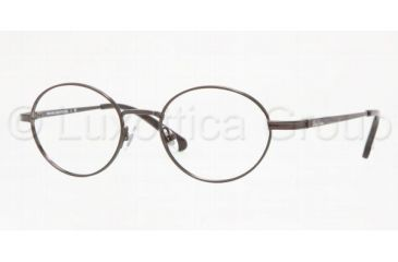 c21995a394 Brooks Brothers BB483 Progressive Eyeglasses - Black Frame   49 mm Prescription  Lenses
