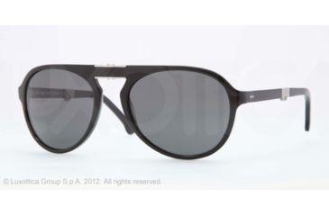 Brooks Brothers BB 5009 BB5009 Single Vision Prescription Sunglasses BB5009-600011-58 - Lens Diameter 58 mm, Frame Color Black