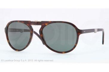 Brooks Brothers BB 5009 BB5009 Single Vision Prescription Sunglasses BB5009-60018E-58 - Lens Diameter 58 mm, Frame Color Tortoise