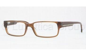 Brooks Brothers ACETATE MAN OPTICAL FRAME BB732 Progressive Prescription Eyeglasses 6034-5417 - Medium Brown
