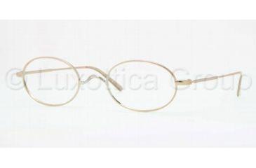 Brooks Brothers BB1001 Progressive Prescription Eyeglasses 1001-5022 - Gold Frame