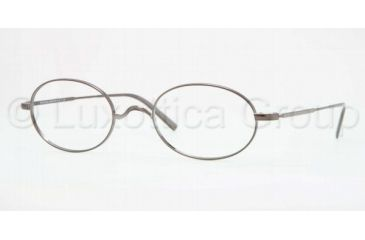 Brooks Brothers BB1001 Progressive Prescription Eyeglasses 1150-5022 - Gunmetal Frame