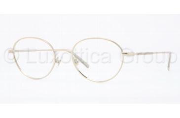 Brooks Brothers BB1002 Eyeglass Frames 1001-5119 - Gold